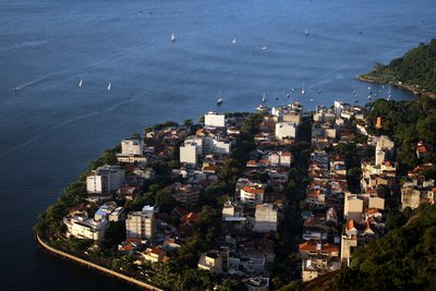 Looking down - Sugarloaf - Rio