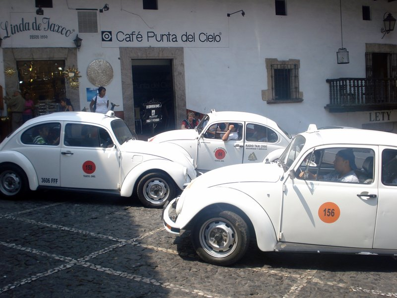 Taxis in Taxco