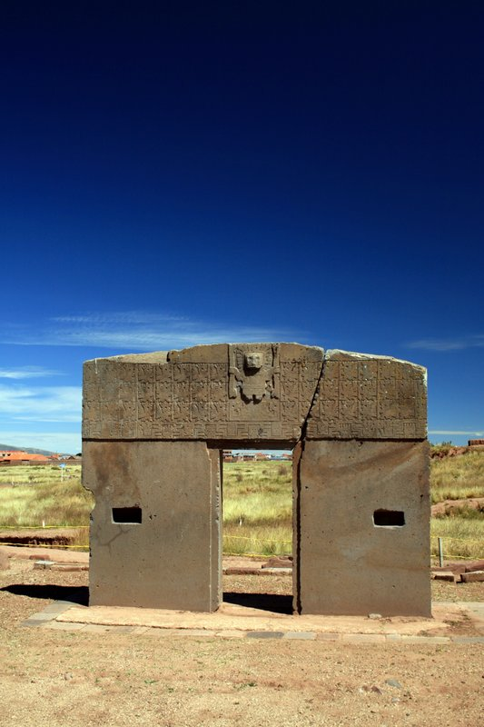 Tiahuanaco Ruins - Bolivia