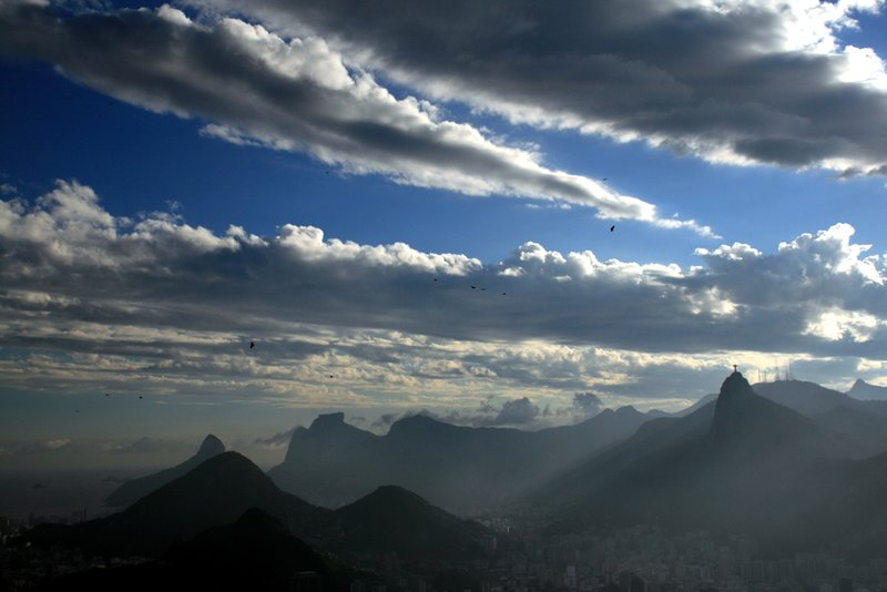 Corcovado Hill from Sugarloaf - Rio - Brasil