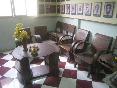 Viet Cong meeting place in Saigon