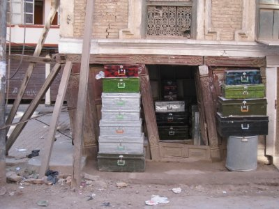 Old shop in Kathmandu
