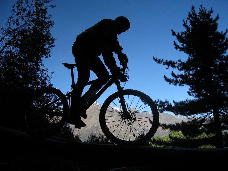 Mtn biking at 7 mile reserve