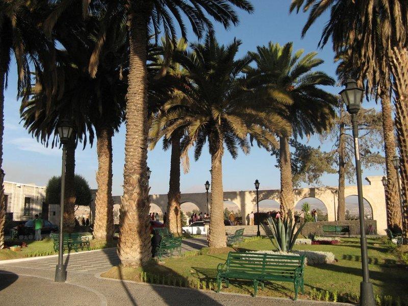 Park vaateplatvormi juures Arequipas