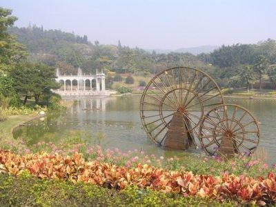 Lake at the foot of Baiyun