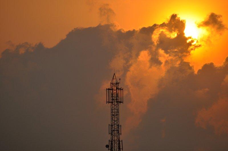 sun rise at velankanni