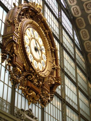 Ornated clock, Musée d'Orsay