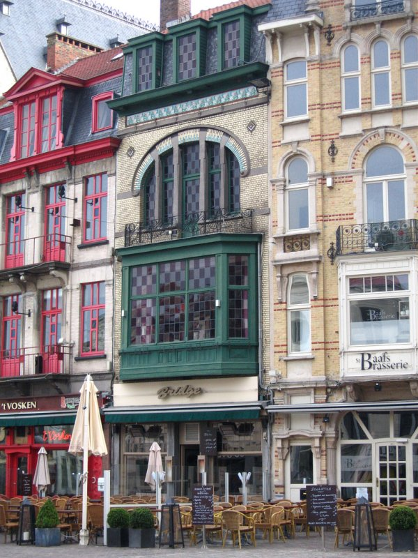 Cafes at Kapittelstraat