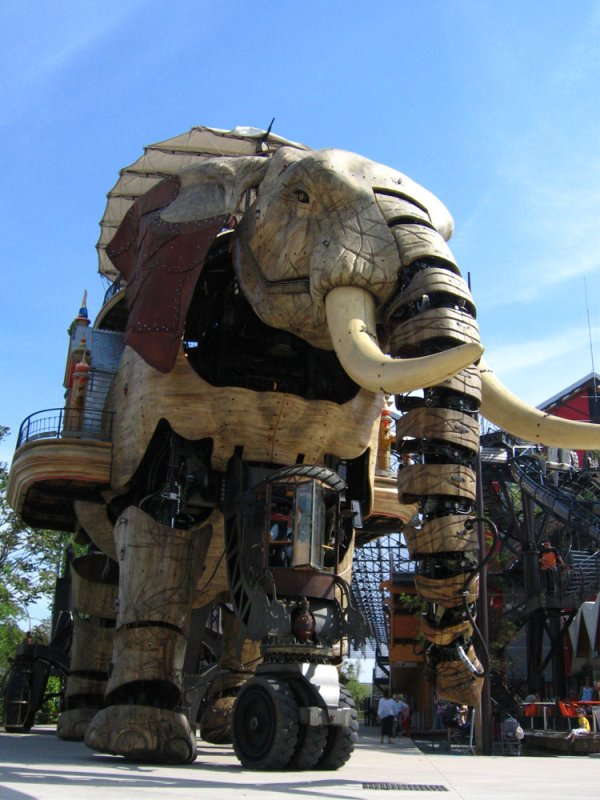 Mechanical elephant of Les Machines de l'Île