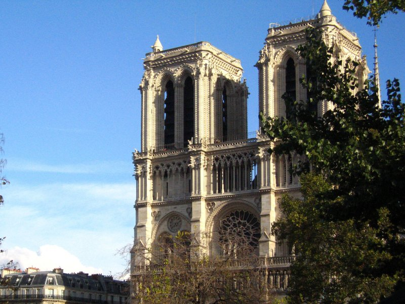 The Gothic Cathedral of Notre Dame