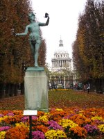Autumn in Luxembourg Garden