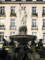 Fountain of Place Royale, Nantes
