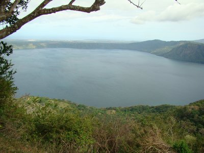 Overlooking Laguna de Apoyo