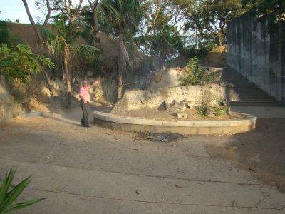 Tanker in concrete - Parque de la Paz