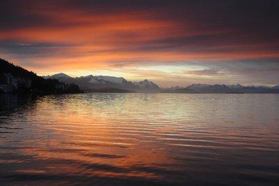 Sunset Bariloche Three