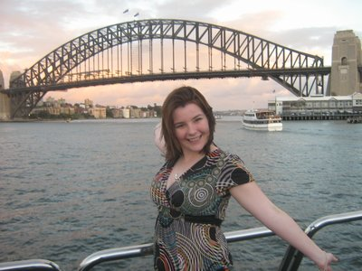Me at the harbour bridge sydney