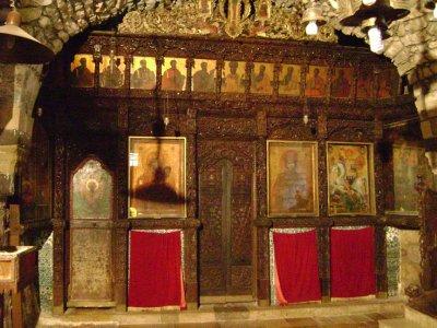 Inside St George Monastary