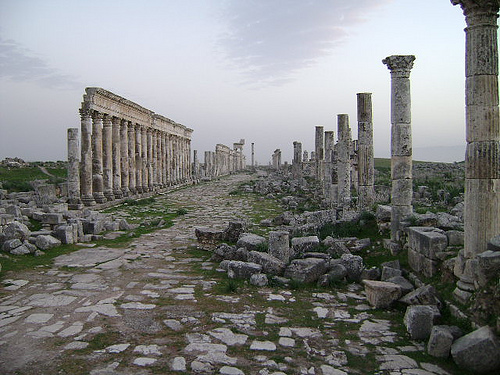 Apamea at Sunset