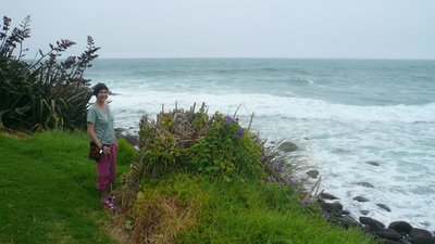 Lois at Raglan