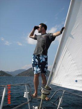 Paul on the bow