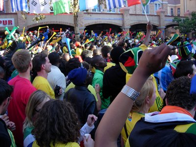 WC2010 Opening Match, Hatfield, Pretoria