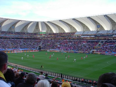 Germany-Serbia, Port Elizabeth