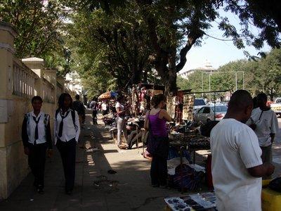Maputo street life