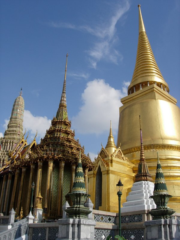 Pagoda at the Royal Palace Bangkok