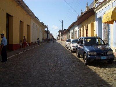 Una calle en Trinidad