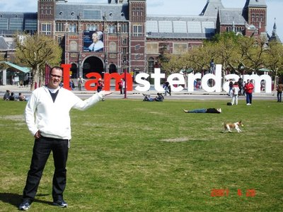 Crazy life in Amsterdam