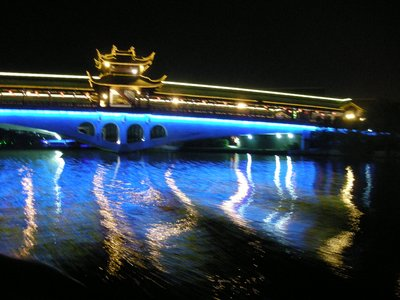 Bridge in lights