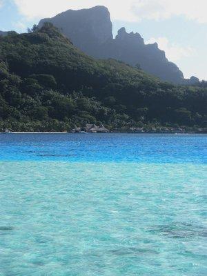 Blue Lagoon, Bora Bora