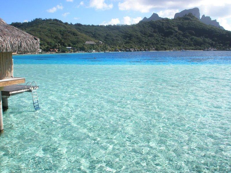 Over water bungalow, Bora Bora