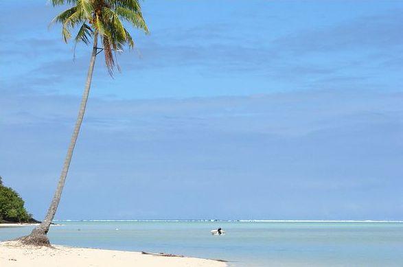Tereia Beach, Maupiti Island