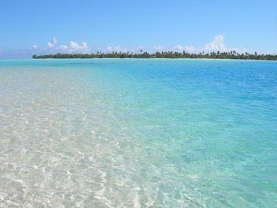 Maupiti's lagoon