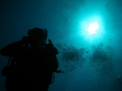 IMG_2166_Similan Island Thailand_Diver silhouette