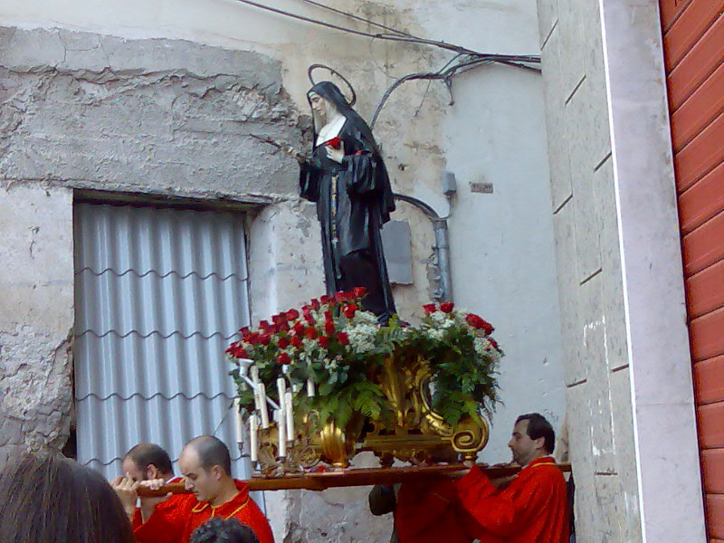 Catholic Procession through Amalfi