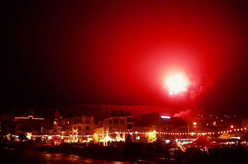 2008 International Fireworks in Gozo, Malta