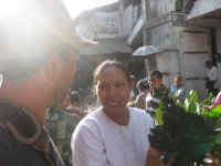 Discovering the local produce at the Ubud market