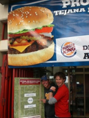 La Paz burger king