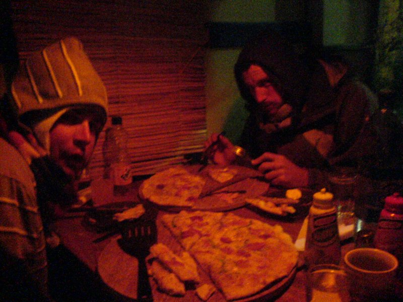 pizza in Uyuni