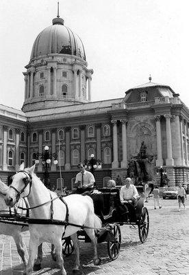 Hungary1992 - Budapest - Royal Palace on Castle Hill