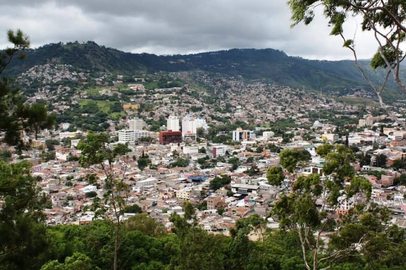 Honduras - Tegucigalpa - city and hills