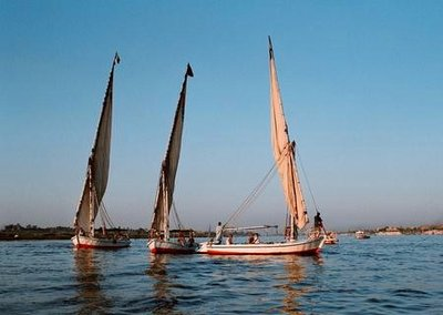 Traffic Jam on the Nile