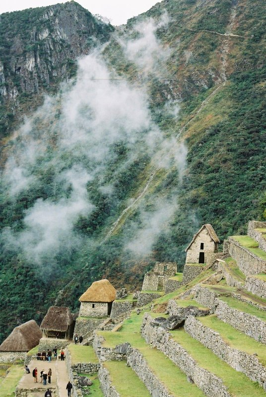 2. grounds of machu pichu