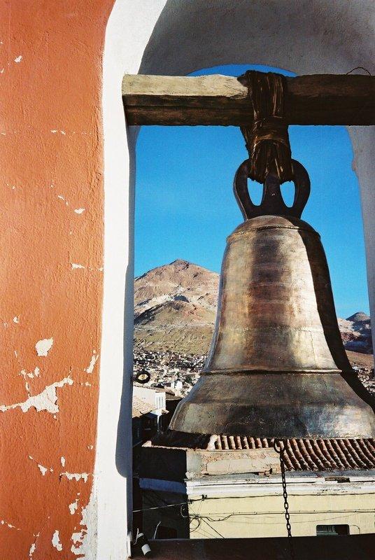 Bell overlooking Potosi 07