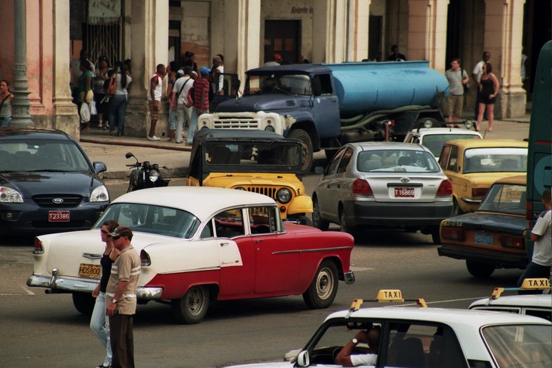 Traffic Jams in Havana