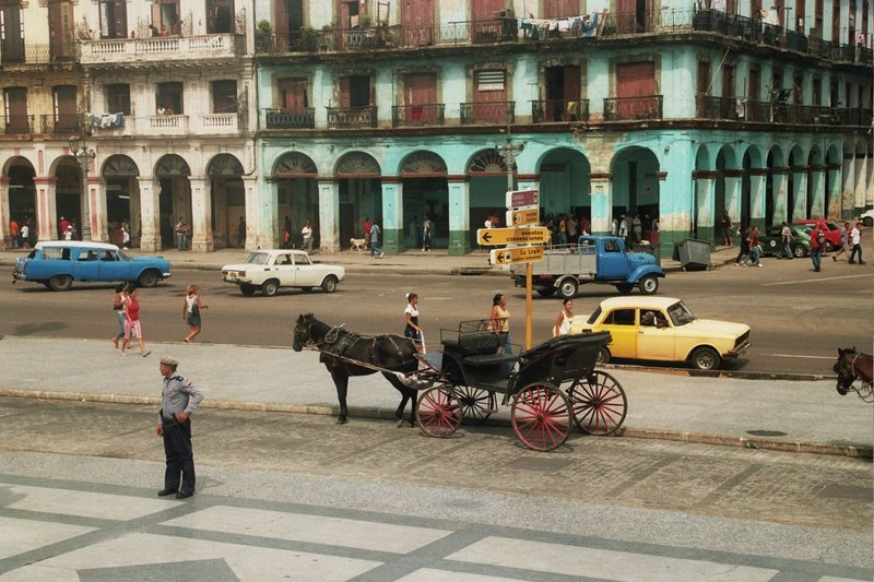 stepping back in time in havana