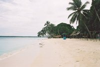 a deserted playa blanca