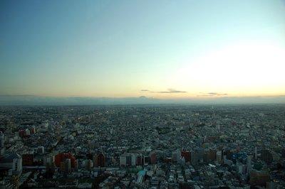 Looming Fuji